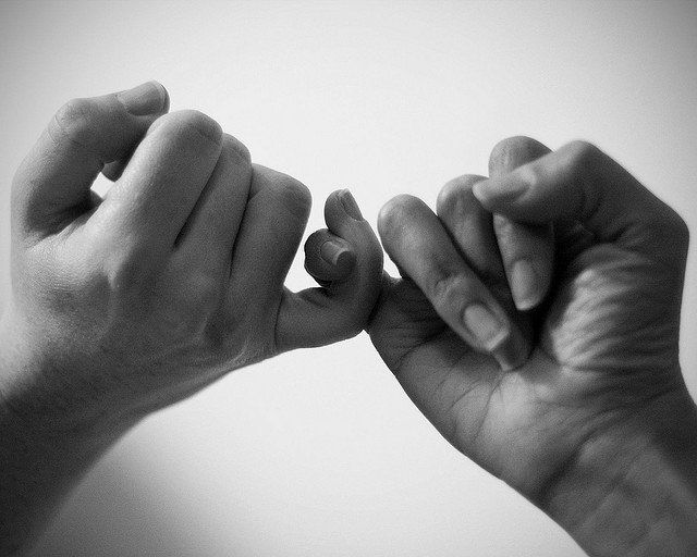 Pinky promises are FOREVER.