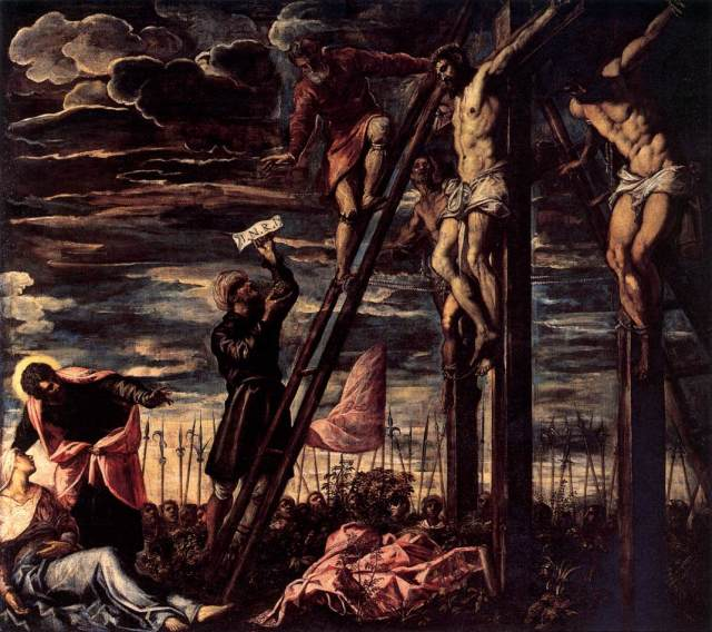 Jacobo-Robusti-Tintoretto-The-Crucifixion-of-Christ