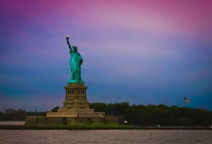 Lady-Liberty-designed-by-Frédéric-Auguste-Bartholdi-and-dedicated-on-October-28-1886