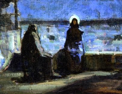 nicodemus-visiting-jesus_henry-ossawa-tanner