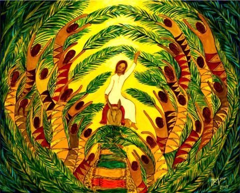 palm sunday art 1
